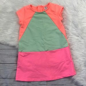 Carter's Girl's Neon Block Dress